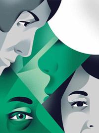 Fan art du roman Les testaments de Margaret Atwood