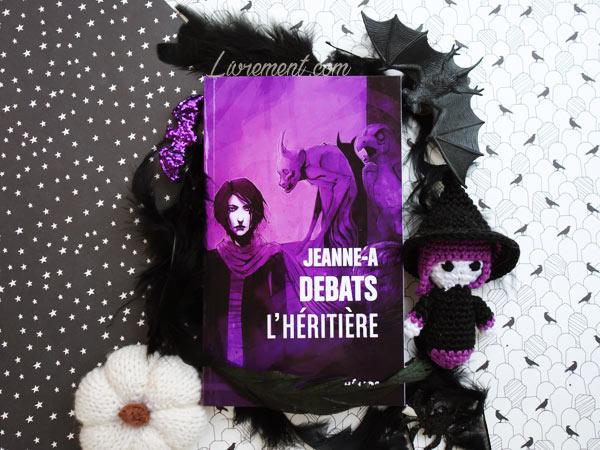 """Mise en scène de roman """"L'héritière"""" de Jeanne Debats"""