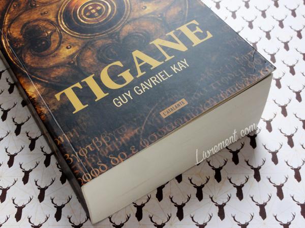 """Mise en scène du livre """"Tigane"""" écrit par Guy Gavriel Kay"""