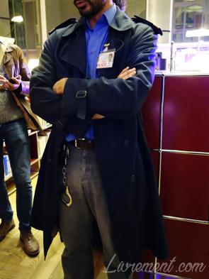 Inspecteur Choux, suspect de la detective party à Toulouse pour la nuit de la lecture 2019