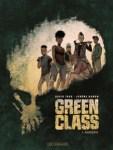 """Couverture de """"pandémie"""" de Tako et Hamon, tome 1 de Green Glass"""