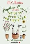 """Couverture du roman """"Pas de pot pour la jardinière"""" de M.C. Beaton, tome 3 d'Agatha Raisin"""
