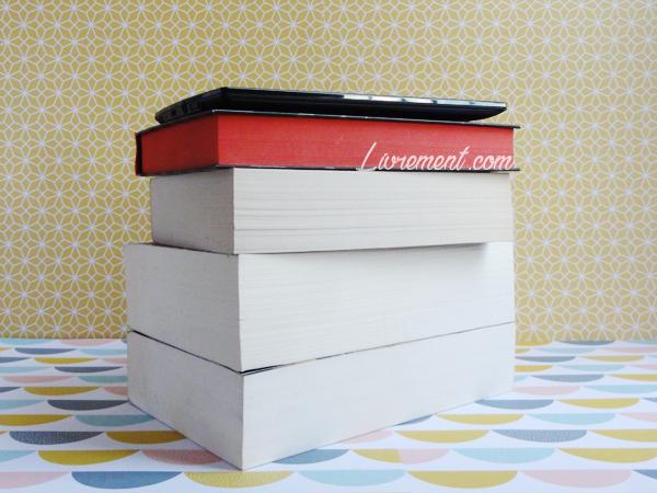 Pile à lire durant l'été 2018
