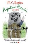 Couverture du roman Pour le meilleur et pour le pire de M.C. Beaton, tome 5 d'Agatha Raisin