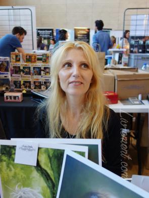 Portrait de Sandrine Gestin aux Aventuriales 2018