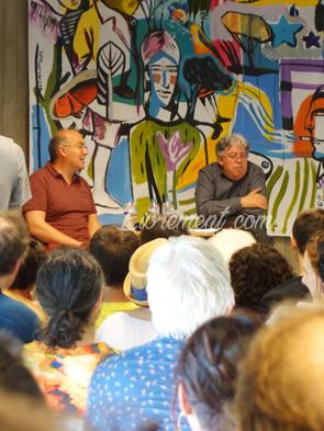 Rencontre d'Alain Damasio et les furtifs en juin 2019 à Toulouse