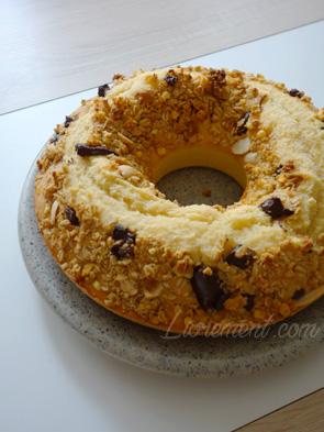 Gâteau improvisé au yaourt sans yaourt et au muesli