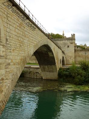 Le pont d'Avignon durant les journées du patrimoine en septembre 2019