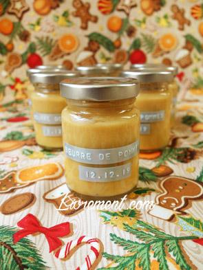 Beurre de pommes maison
