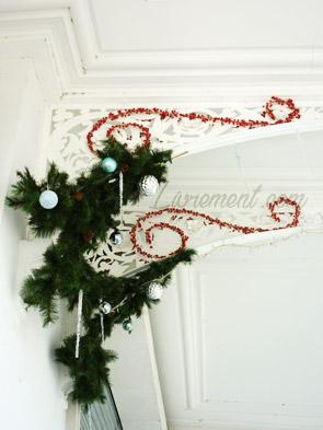 Décoration de Vichy pour Noël