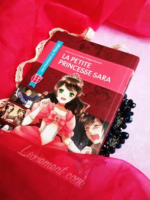Mise en scène du manga La petite princesse Sara