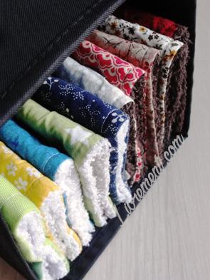 Couture : lavettes maison