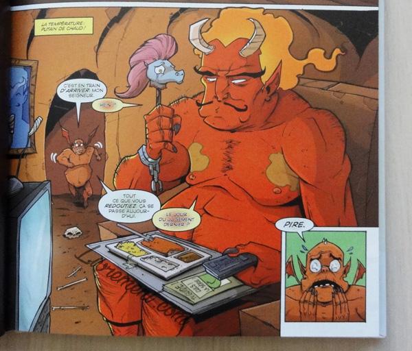 L'enfer personnel, vision de la série Tony Chu