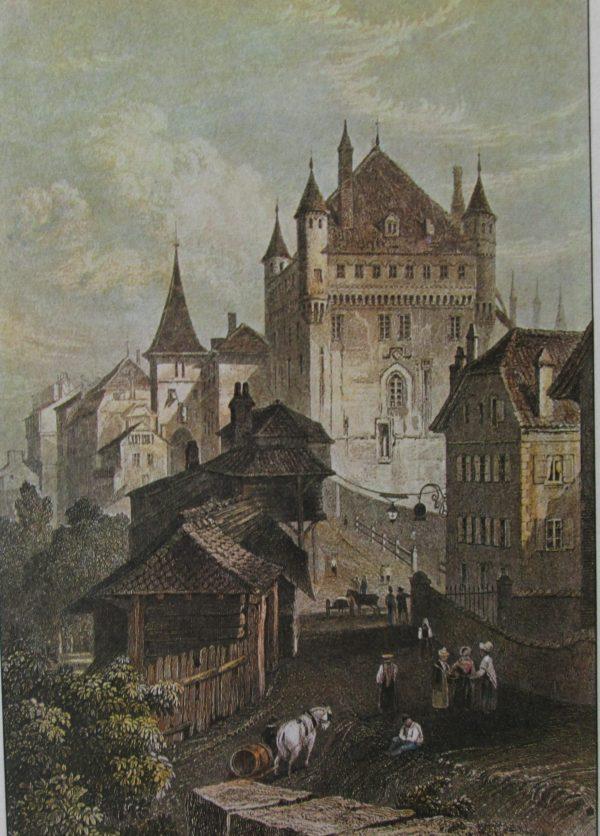 Vues anciennes de Lausanne