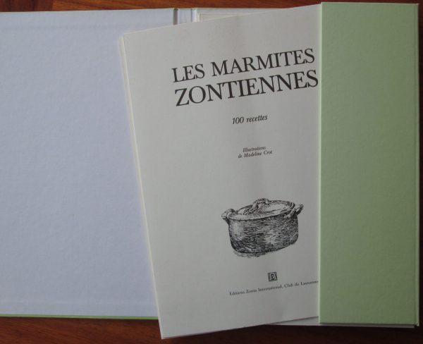 marmites zontiennes