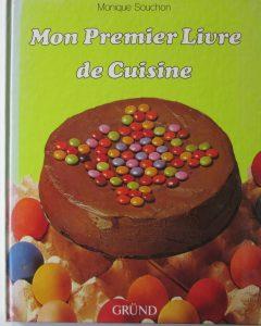 premier livre cuisine