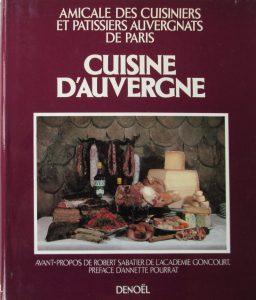 cuisine Auvergne