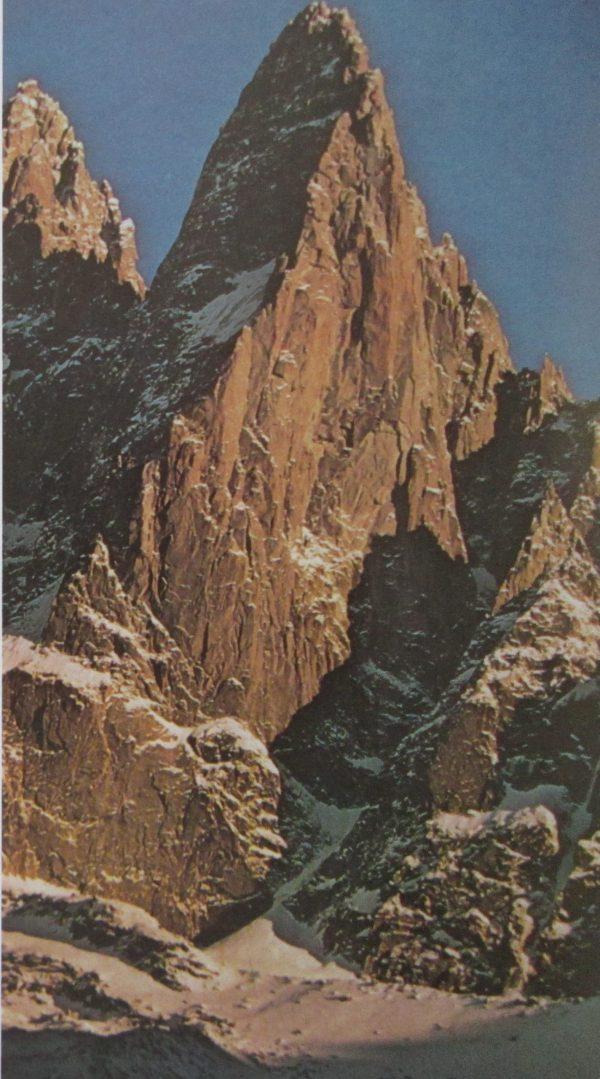 escalade rocheuse glaciaire