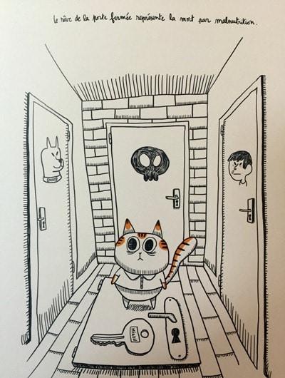 chat - l'obsession de manger - vivre vieux et gros - Michel Plée