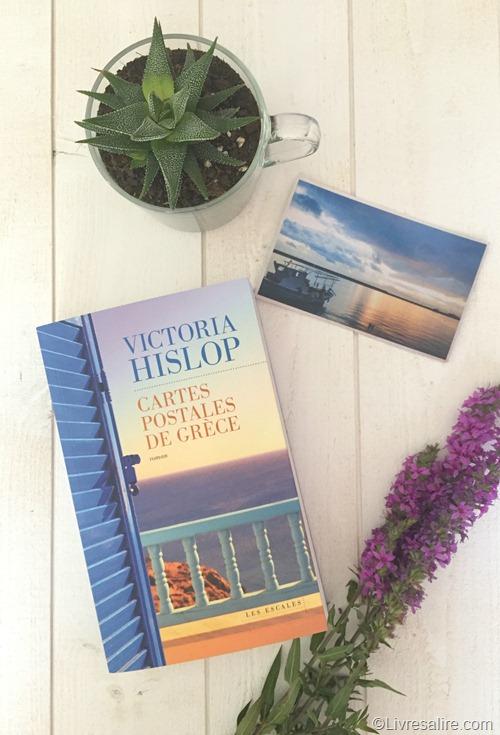 Victoria Hislop - Carte postales de Grèce 2