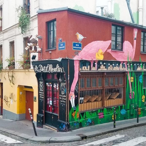 Petit moulin-Montmartre- Paris - Hotel