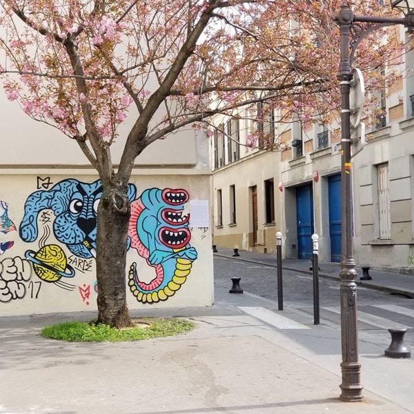 Visite Paris - Street art La Butte aux cailles (4)