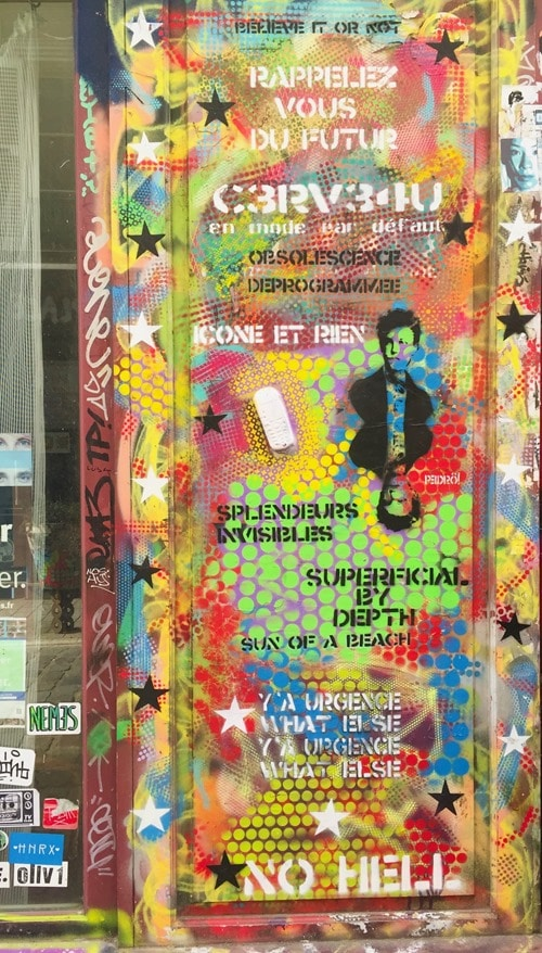 Visite Paris Streetart Belleville (2)