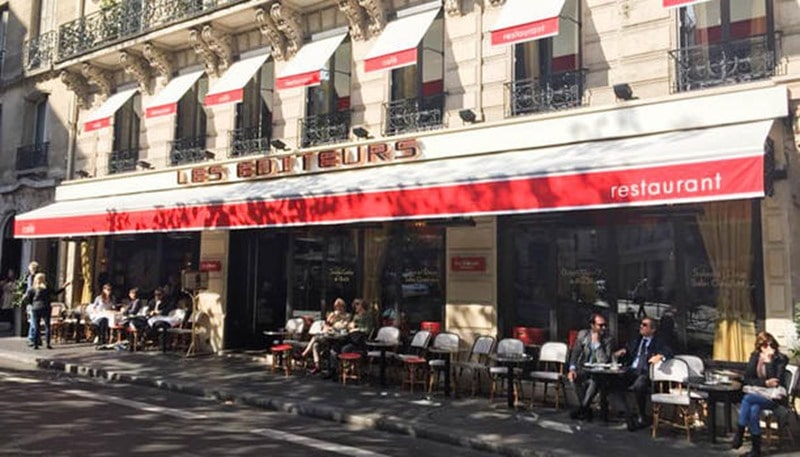 Les Editeurs Paris littéraire