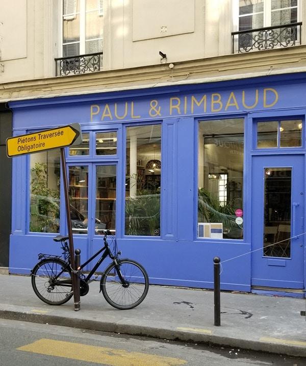 Paul et Rimbaud Café littéraire
