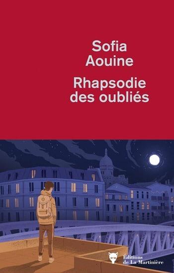 rhapsodie des oubliés - Sofia aouine rentrée littéraire