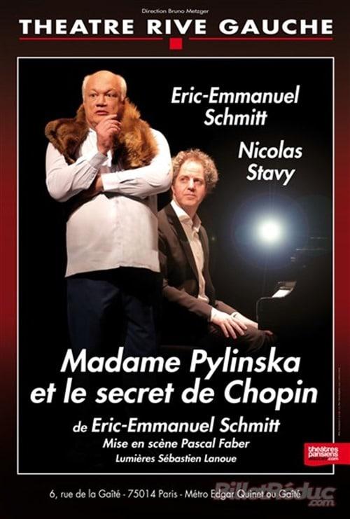 Theatre Rive Gauche madame Pylinska Eric-Emmanuel Schmitt