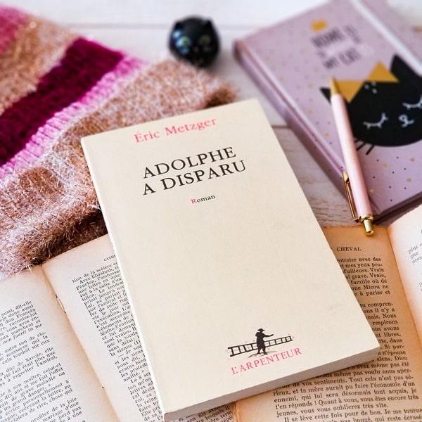 Eric Metzer - Adolphe a disparu blogueuse littéraire
