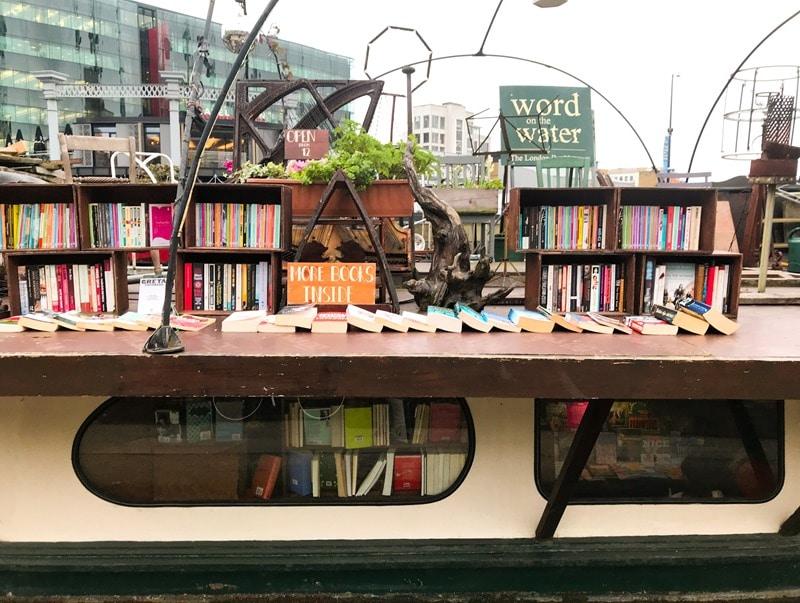 Librairie londres originale Word on the water à voir