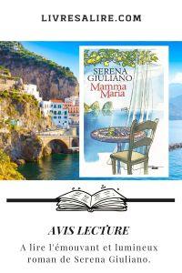 Blog littéraire - avis lecture - Serena Giuliano - mamma Maria