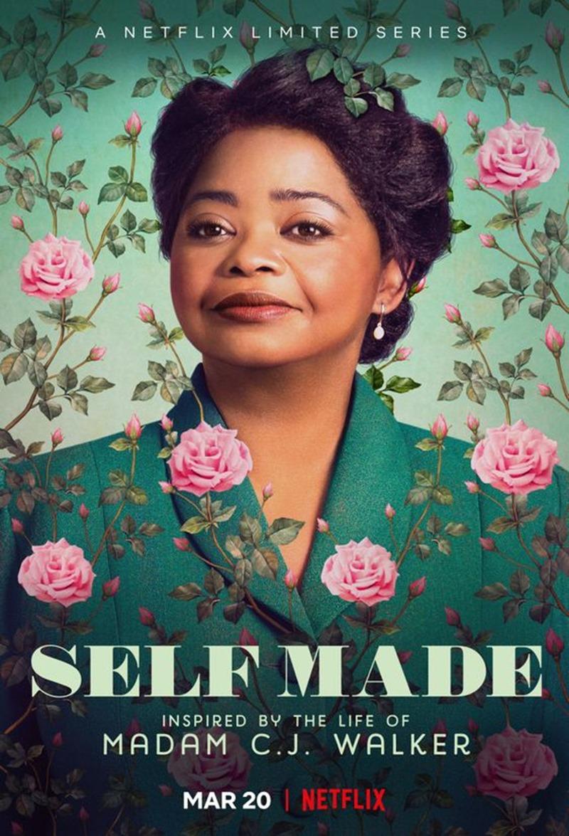 serie Netflix Self Made affiche
