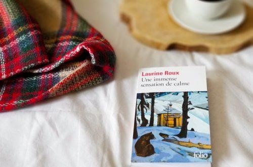 Laurine roux - livre une immense sensation de calme