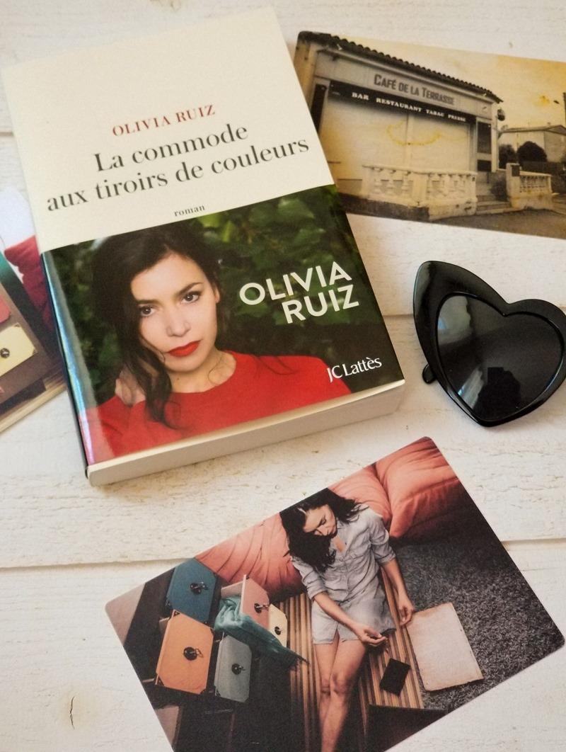 Olivia Ruiz livre - la commode aux tiroirs de couleurs