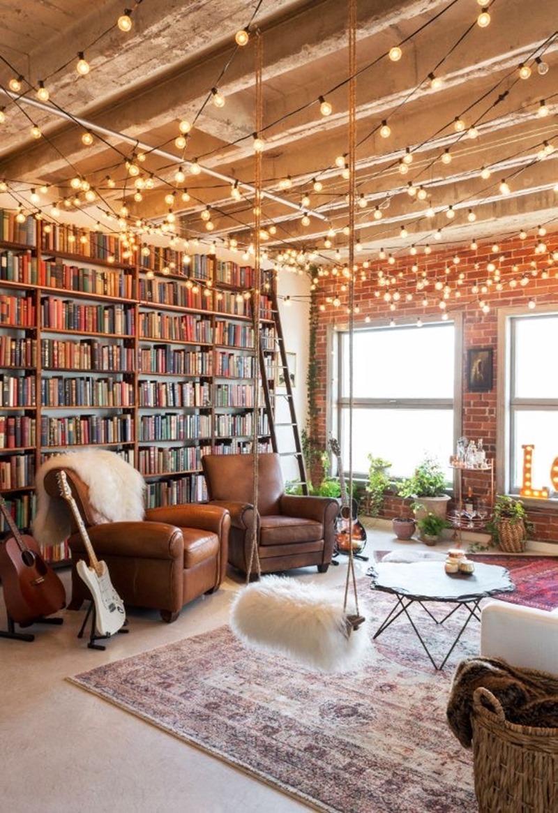 Ma bibliothèque idéale -ranger livres