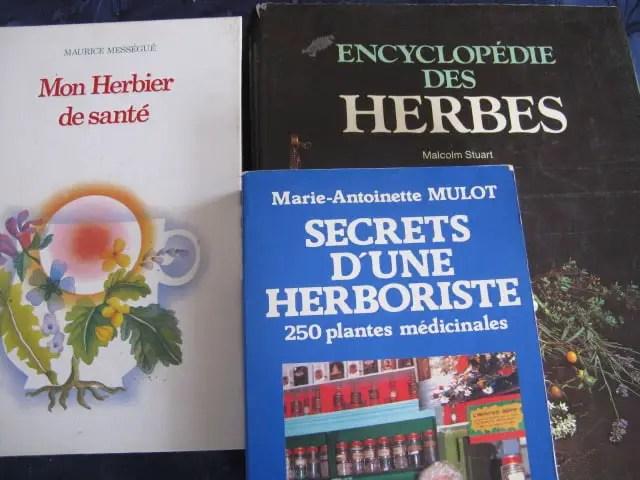 Photos livres plantes médicinales