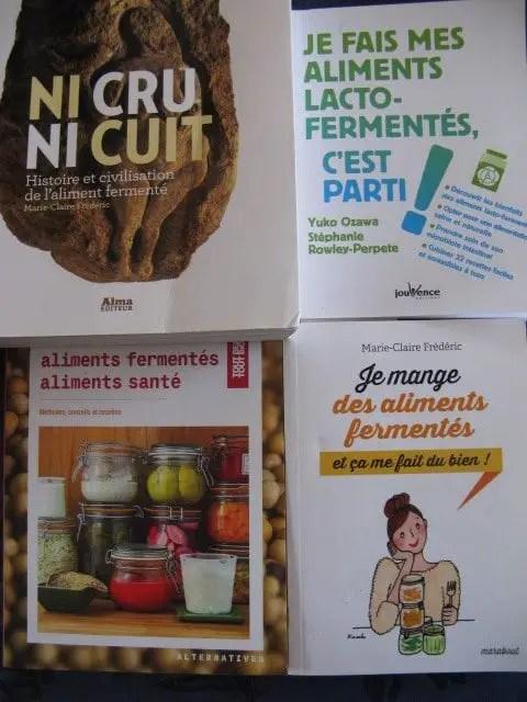 Livres : la fermentation et la santé
