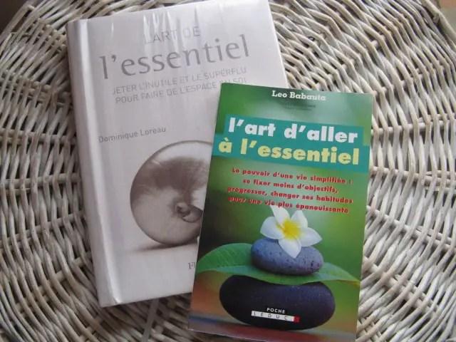 livre : aller à l'essentiel
