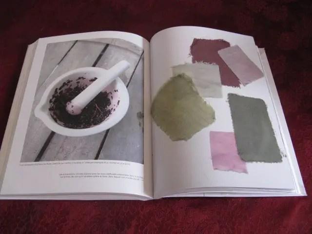 livre teintures végétales