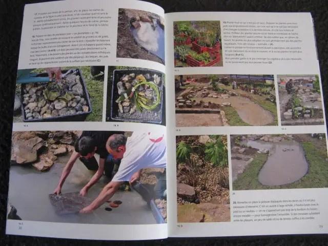 livre pour faire un bassin de jardin