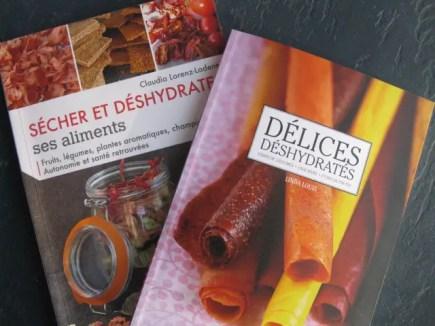 livres aliments déshydratés ou séchés