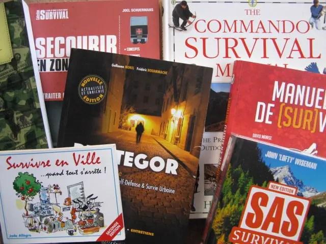 livres survivalisme pour survivre au chaos