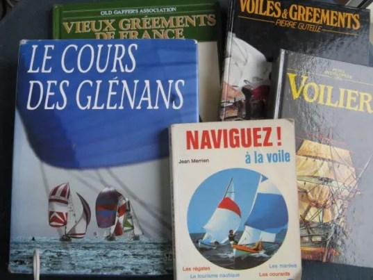 livres voiles et gréements