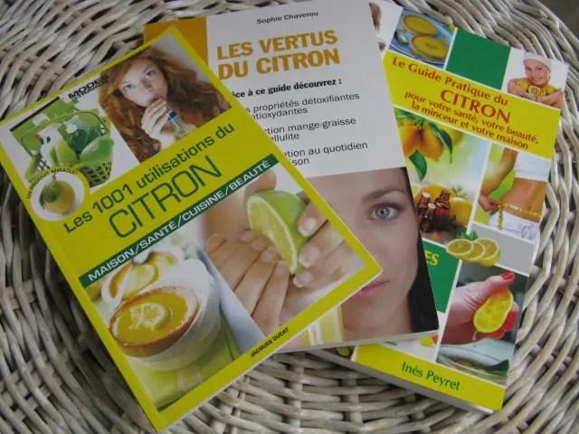 livres sur le citron
