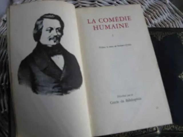 livres la comédie humaine de Balzac