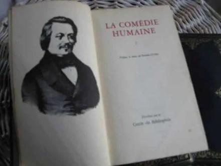 livres la comédie humaine de Balzac, biografie, mouvement littéraire