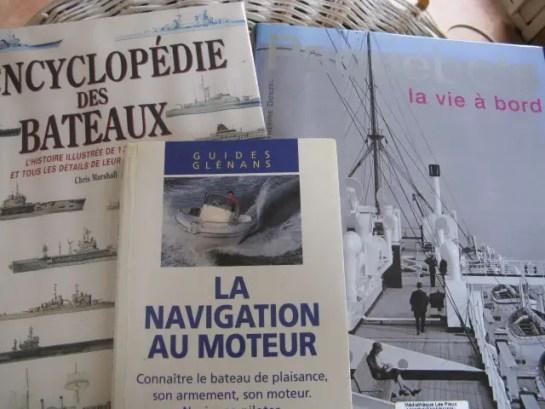 meilleur livre sur les bateaux